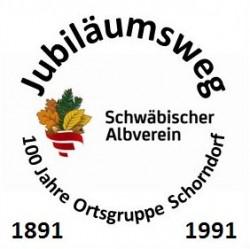 Logo Jubiläumsweg 1891 - 1991